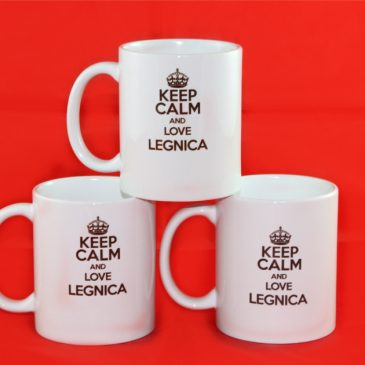 Ceep calm and love Legnica – Kubek 330 ml