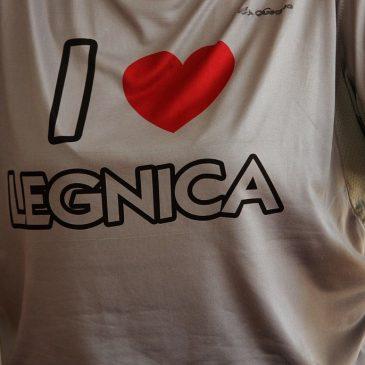 Koszulka z narukiem I♥ LEGNICA